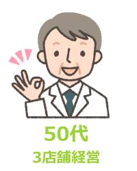 50代薬剤師 3店舗経営